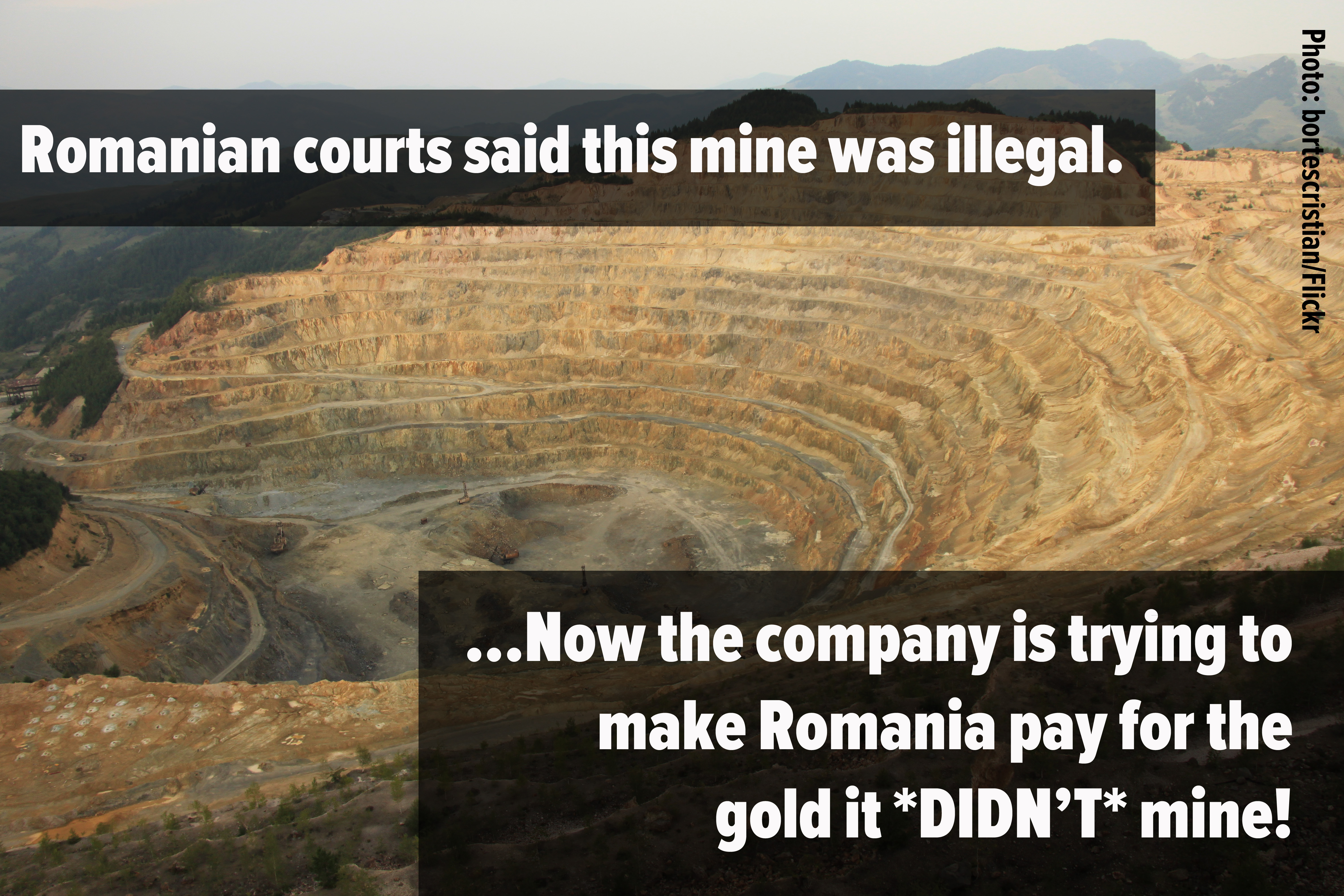 Gabriel Resources take Romania to World Bank over Rosia Montana