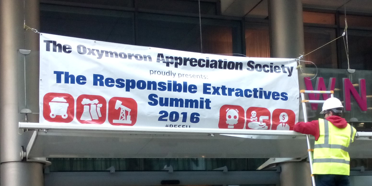 'Responsible Extractives Summit': Sick Joke or Serious Indictment of Industry?
