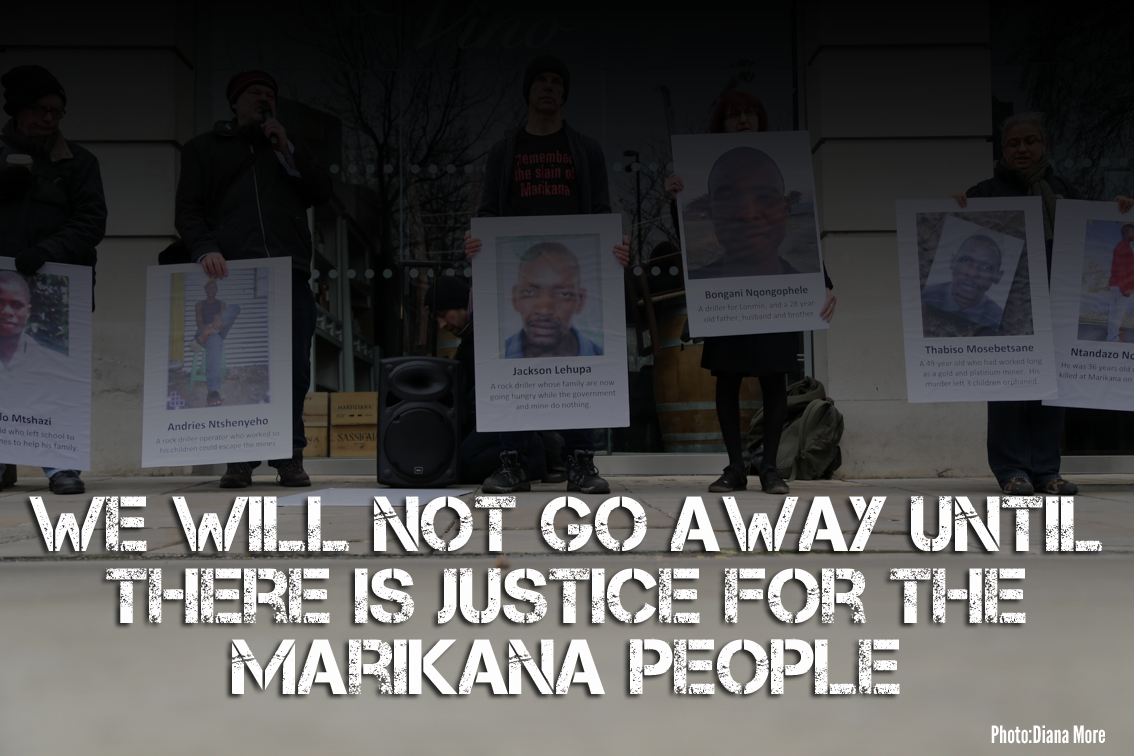 Lonmin Cannot Wash its Hands of Marikana's Blood
