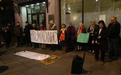 Vigil for Brazil's communities affected by Brumadinho dam disaster